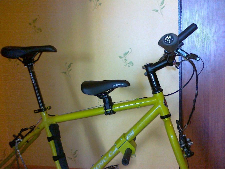 Как сделать сиденье на детский велосипед 386