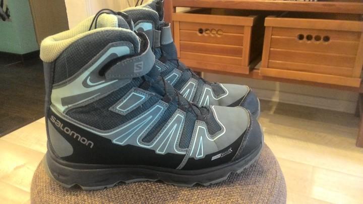 Продаются детские ботинки SALOMON в отличном состоянии! Размер указан 37 db8fd4d77666d