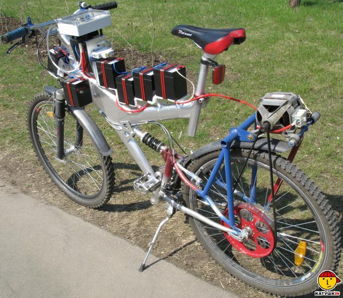 Велосипед собранный своими руками 969