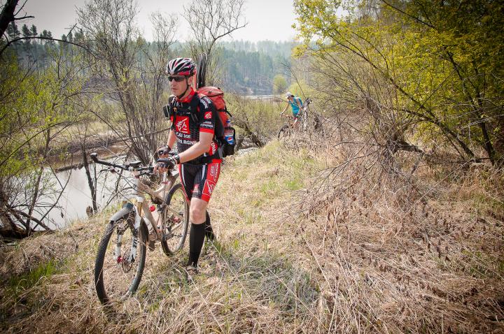 Вело-водный 100 км поход на один день F_1056992