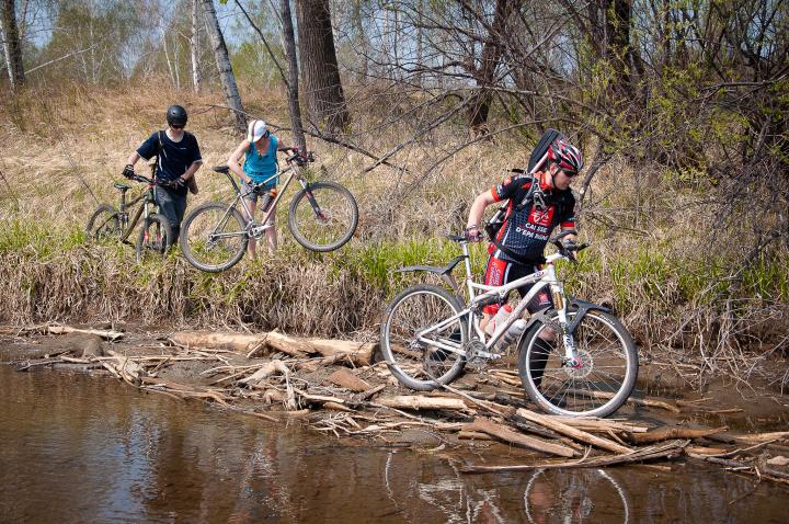 Вело-водный 100 км поход на один день F_1056993